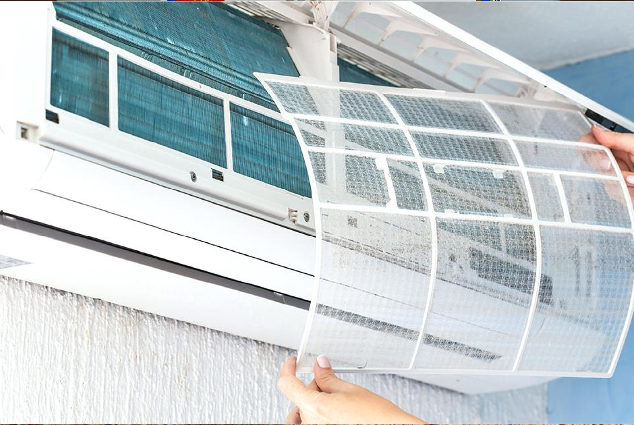 How to clean aircon