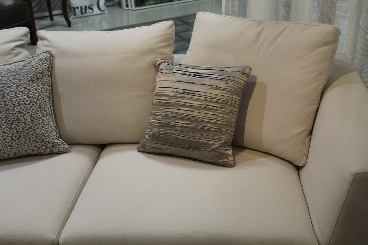 How to sanitize fabric sofa