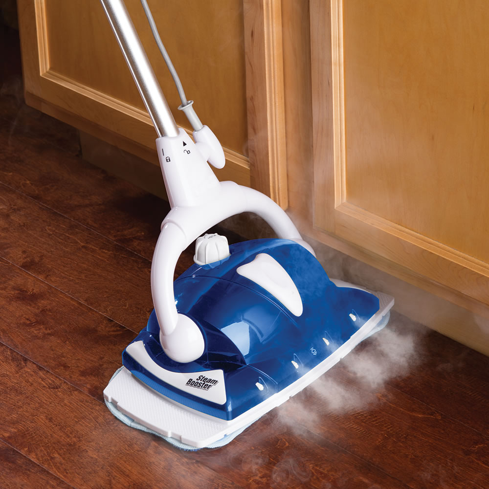 Steam mops can heat the water