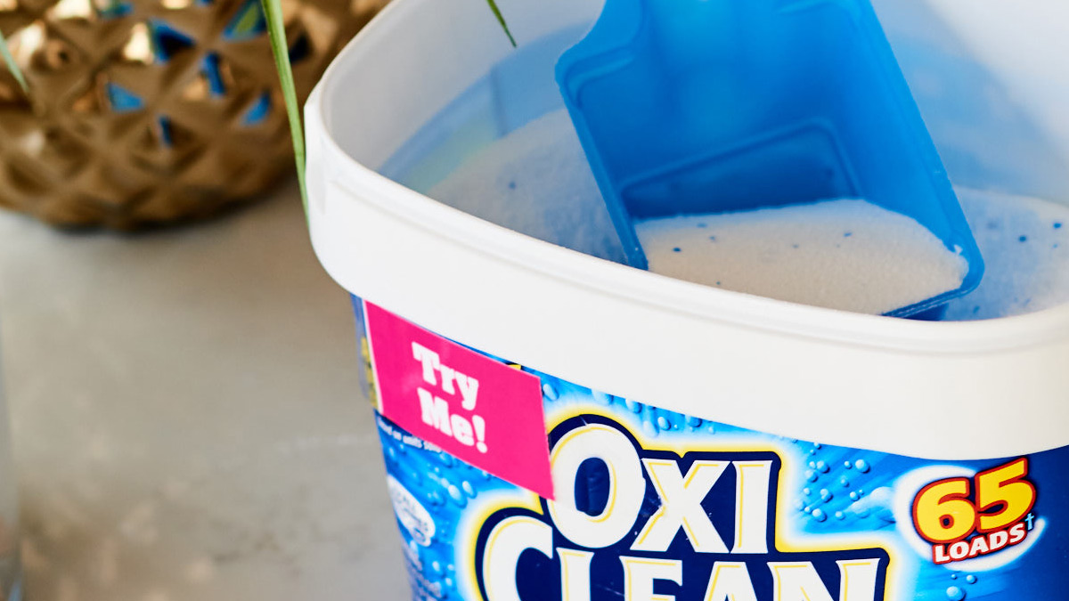 Use oxiclean to clean upholstery