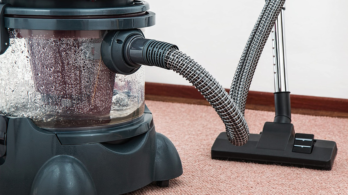 Use vacuum to clean upholstery